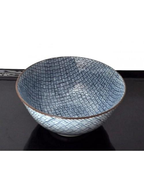Bol porcelaine du Japon motif geometrique - La Galerie Equitable