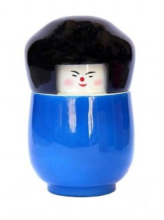 Boîte poupée kokeshi - La Galerie Equitable