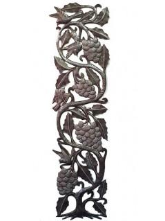 Le raisin et la vigne : décor mural - La Galerie Equitable