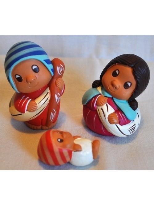 Crèche de Noël du Pérou - La Galerie Equitable