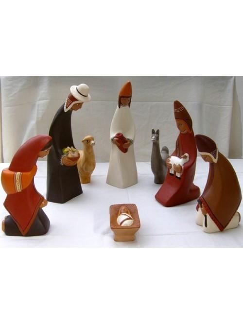 Grande crèche de Noël - La Galerie Equitable