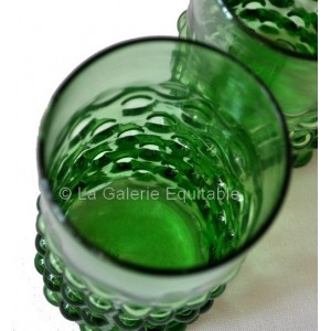 les 2 verres années 20 - La Galerie Equitable