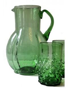 les 2 verres  et pichet années 20 - La Galerie Equitable