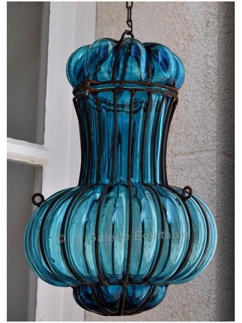Lampe verre soufflé - La Galerie Equitable