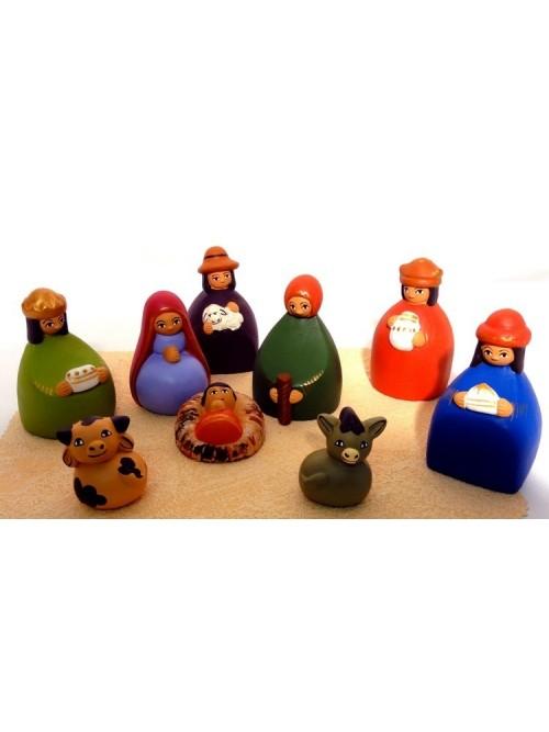 Creche de Noel - Pérou - La Galerie Equitable