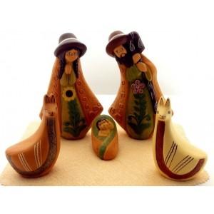 Creche de Noel tournesol - La Galerie Equitable