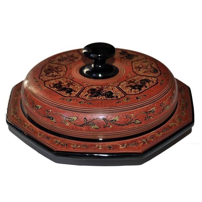Boîte traditionnelle de Birmanie - La Galerie Equitable