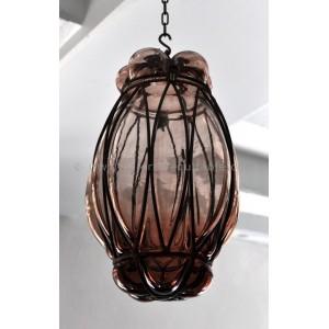 Suspension lampe verre soufflé - La Galerie Equitable