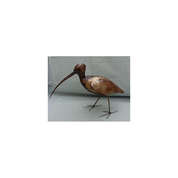 Courlis, oiseau en métal pour le jardin - La Galerie Equitable