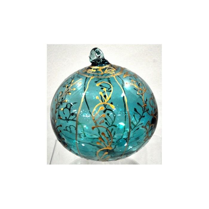 Boule de Noël verre soufflé - La galerie équitable