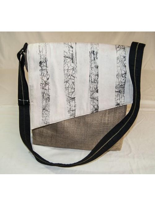 sac besace homme ou mixte - La Galerie Equitable