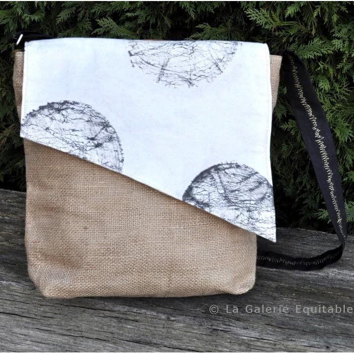 Besace sac homme ou mixte - La Galerie Equitable