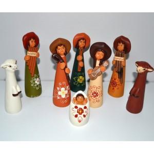 Crèches de Noël aux Musiciens