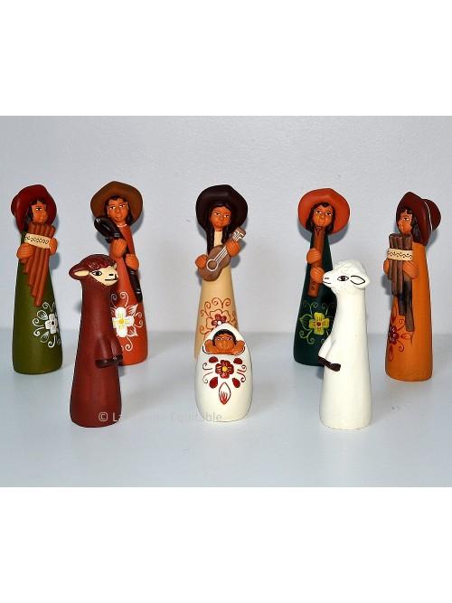Crèche de Noël Pérou La Galerie Equitable
