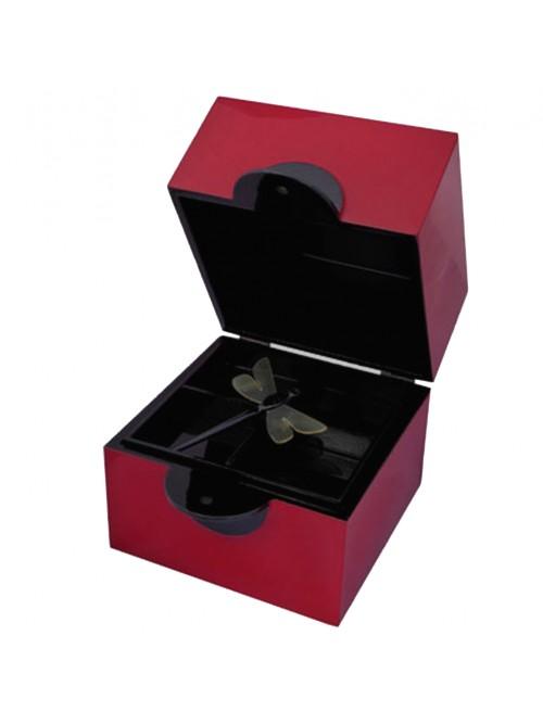 Boîte à bijoux libellule.