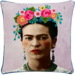 Coussin brodé Frida Kahlo