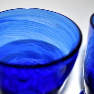 Verres de table en verre recyclé - La galerie Equitable