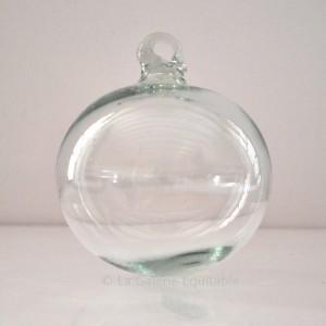 Boule de Noël transparente
