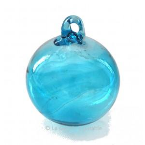 Petite boule de Noël turquoise