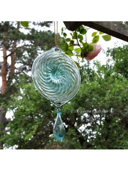 Suspension décorative en verre soufflé bouche - La Galerie Equitable