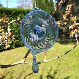 Suspension porte-bonheur en verre - La Galerie Equitable