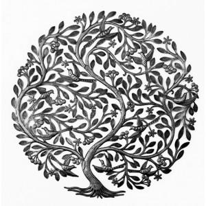 Grand arbre aux fruits et...