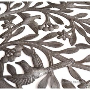 Décor mural métal martelé - La Galerie Equitable