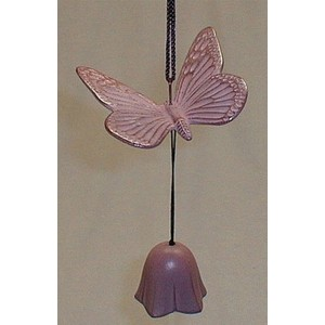 Clochette en fonte Papillon - La Galerie Equitable