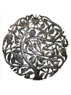 Décoration murale en métal Arbre de Vie - La Galerie Equitable