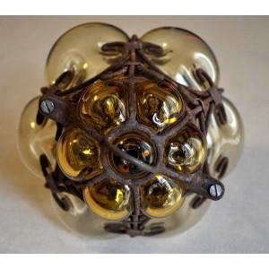 Petite lampe vénitienne jaune - La Galerie Equitable