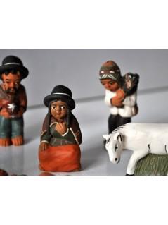 Crèche de noel Pérou - La Galerie Equitable