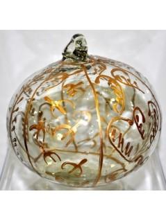 Boule de Noël verre soufflé la galerie equitable