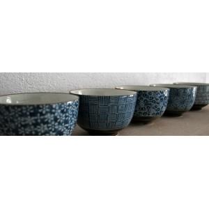 Coffret 5 bols japonais - La Galerie Equitable