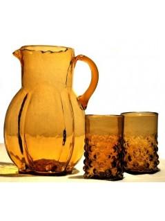 les 2 verres et carafe années 20 - La Galerie Equitable