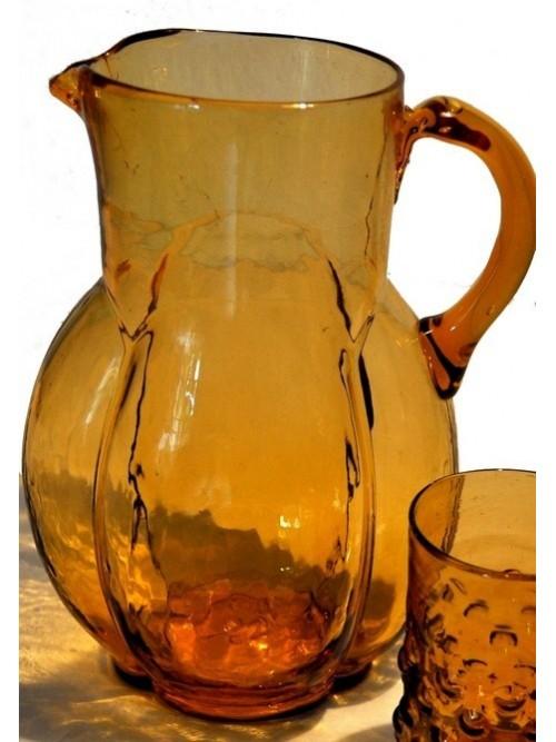 Carafe à eau ambre - La Galerie Equitable