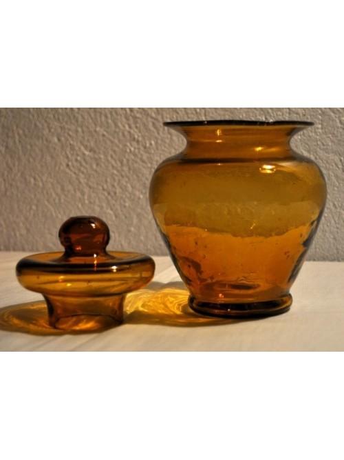 Bonbonnière ambre - La Galerie Equitable