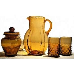Pot, carafe et verres - La Galerie Equitable