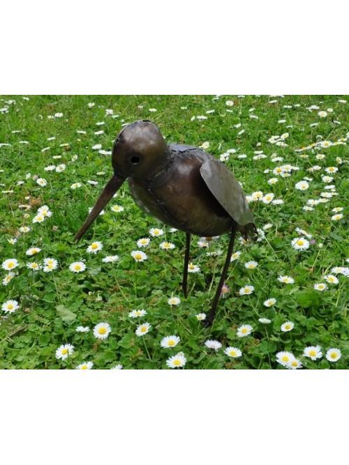 Huîtrier Oiseau en métal pour le jardin - La Galerie Equitable