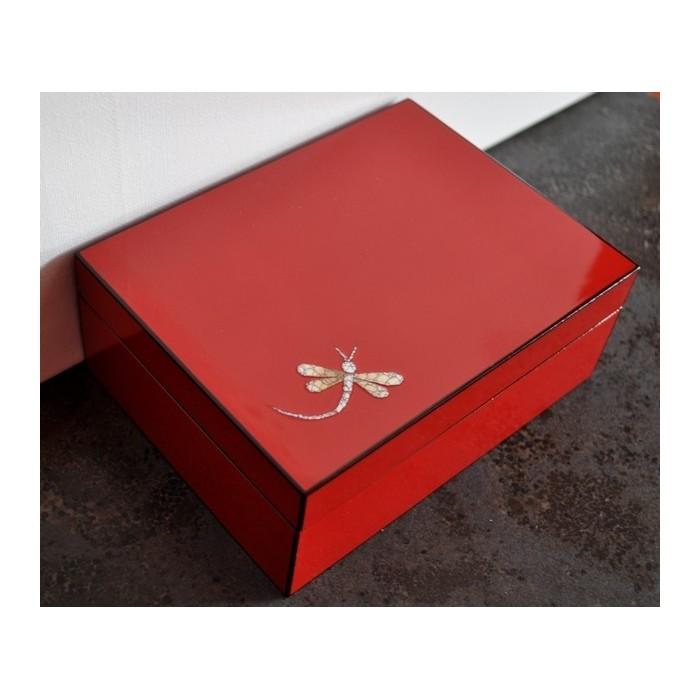 Boîte laquée décor coquille oeufs Vietnam - La Galerie Equitable