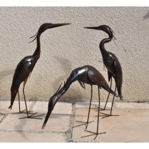 Oiseaux pour le jardin - hérons - La Galerie Equitable