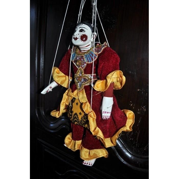 Marionnette à fils de Birmanie - La Galerie Equitable
