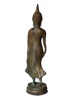 Statuette bouddha debout en bronze - La Galerie Equitable