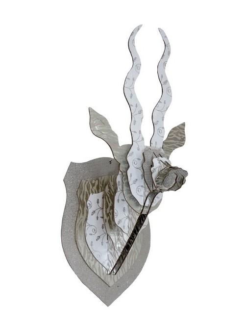 Trophée tête d'antilope - La Galerie Equitable
