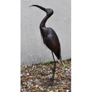 Ibis en métal pour le jardin - La Galerie Equitable