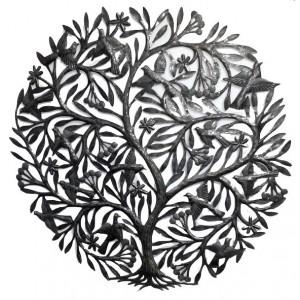 Décor mural : l'arbre aux oiseaux - La Galerie Equitable